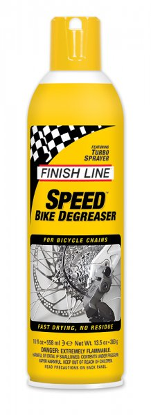Очиститель цепи Finish Line Speed Bike Degreaser, 500ml аэрозоль фото