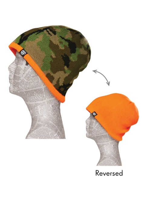 Шапка 686 Camo Reversible Beanie Hunter Camo фото