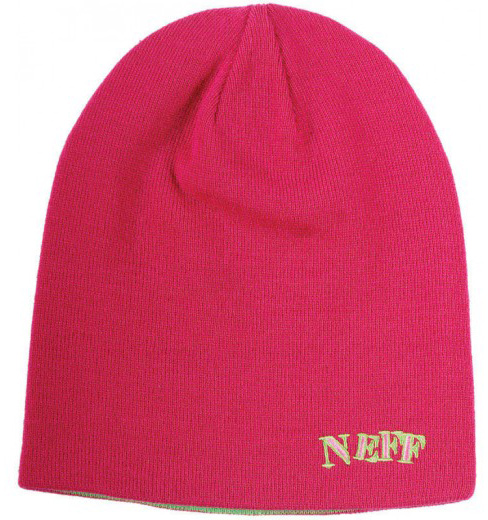 Шапка Men NEFF HO10 REVERSIBLE Pink фото