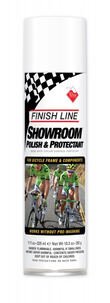 Полироль для велосипеда Finish Line Polish&Protectant, 325ml аэрозоль фото