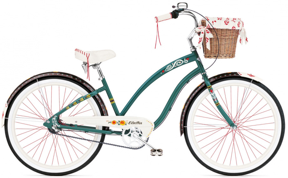 "Велосипед 26"" Electra Gypsy 3i Ladies' forest Green фото"