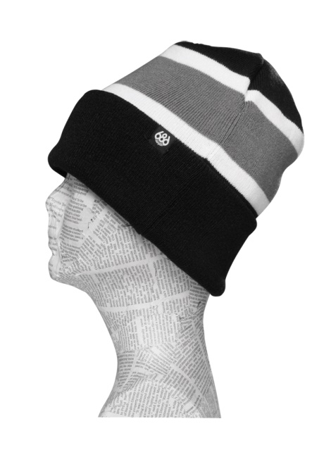 Шапка 686 Touch-Down Beanie Black фото
