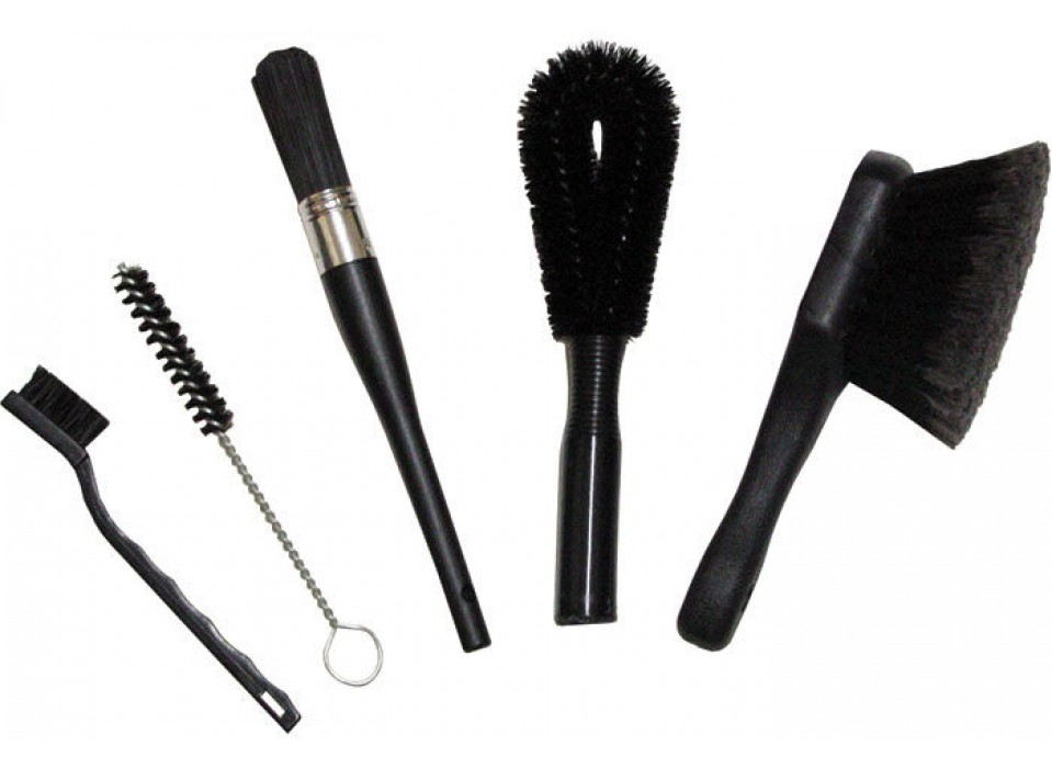 Набор Finish Line Easy-Pro Brush Set 5 щёток для чистки велосипеда фото